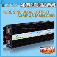Original Manufacturer 2000W 12/24/48V DC To 110V/220V AC Pure Sine Wave Inverter Off Grid Inverter