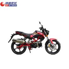 China light new style motorcycle on sreet road(hongli kpipe125)