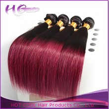 Good quality body wave hair weaving two tone synthetic ombre marley hair braid