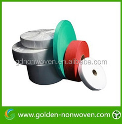 Nonwoven fabric for embroidery backing, water soluble