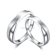 Value 925 Sterling Silver Ring Blanks Designs for Couple Wholesale