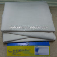 bleached tc fabric/ polycotton 65/35 59/60""