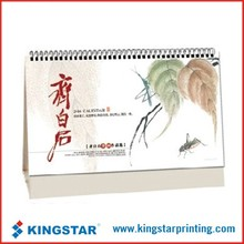 customized printing innovative desk calendar design