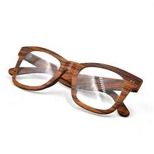 Factory price new model eyewear wood reading glasses