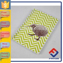 Free sample custom size sprial notebook school for students