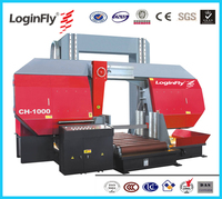Direct Factory sell Heavy Duty 1000mm diameter Semi Automatic Metal Cutting Band Saw Machine