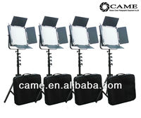 High CRI 4 X 900 LED Video Light Studio Film 5600K Broadcast Lighting + Free Bag