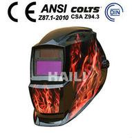 Solar Powered Auto Darkening Welding Helmet/Art Welding Helmet(WH-621)