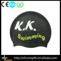 Promotional cheap latex swimming caps wholesale