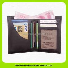 14292 Sheepskin Custom Top Quality Men Purse Genuine Leather Mens rfid Wallet