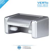waterproof silver toilet paper holder