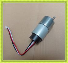 SG37 series CE, RoHs approval 6v 12v 24v dc gear motor encoder 60:1 high torque low speed reductor dc motor