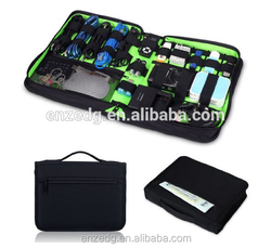 Portable Electronics Accessories Travel Organizer / Hard Drive Case / Cable Organiser