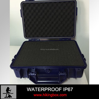 Ningbo HIKING-ON. Hard ABS Safty plastic instrument case /waterproof plastic protective laptop computer case 345*268*120mm