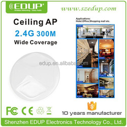 300Mbps wireless wifi router,POE high power ceiling mounted AP special for hotel EP-AP2609