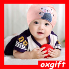Oxgift atacado multi-color cotton cap bebê malha