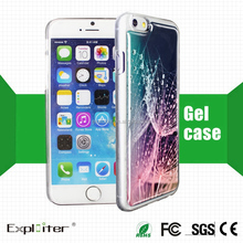 New arrival beautiful color mobile phone cover case for customize iphone6 case