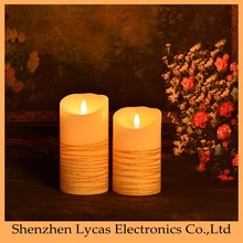 printing plastic LED candles plastic, Color Changing Led Candle for Halloween party