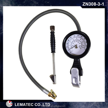 Air Auto Motorcycle Truck Tire Tyre Inflating Inflator Tool Pressure Dial Gauge