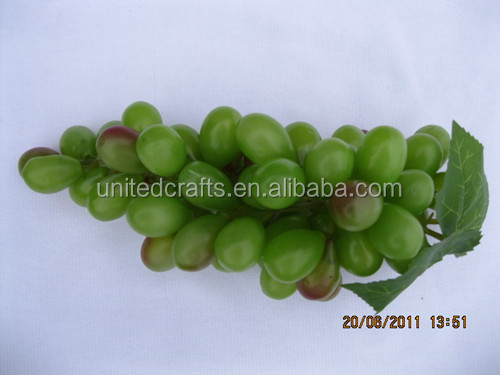 Hot sell artificial grape fruits decoration