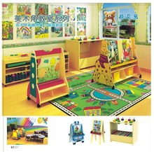Children Art Painting Easel Caster Design High Quality