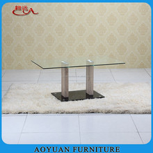square MDF tempered glass led coffee table malaysia