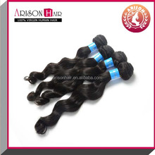 7A grade peruvian virgin hair loose wave 1 color 100g '8-38' inches wholesale cheap hair weft strong can be dyed hair piece