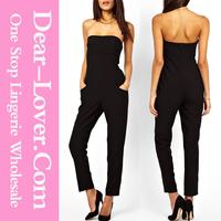 Vogue Tube Top Black jumpsuits for women 2014