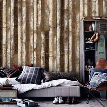 Gris New Luxury Fashion Design European Style Timber Plank Series Delft Non-woven Nature Texture Wallpaper