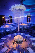 wedding table decoration ,wholesale Crystal Table Top Chandelier Centerpieces