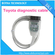 [Wholesale price] For Toyota cars 2015 Version V10.00.028 j2534 interface toyota techstream diagnostic cable with high quality