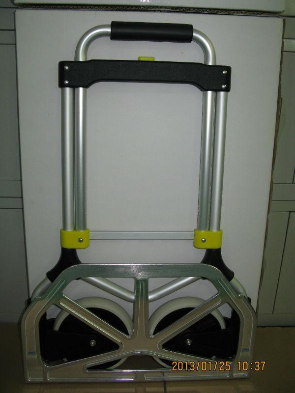 Luggage cart with folding wheels of FW-92V