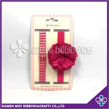 wholesale fancy colorful newborn infant flower headband