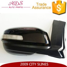 Right side rearview mirror with light for city 5 lines