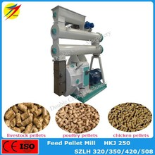 Hot sale low price cattle feed making machine with capacity 5-7ton/h