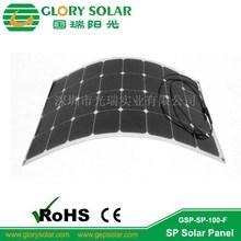supwer thin 100W Sunpower Semi Flexible Solar Panel for RV