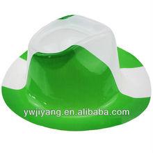 pvc de la bandera nacional de vaquero sombrero de fiesta