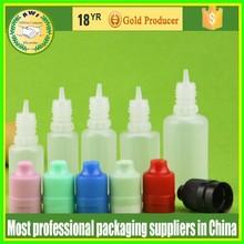 child&tamper evident cap plastic pe bottle 15ml