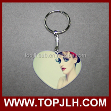 2015 Customized Logo Christmas Promotional Gifts Reflective Keychain for lovers