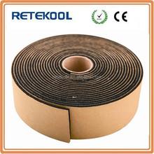 HVAC duct rubber foam insulation tape