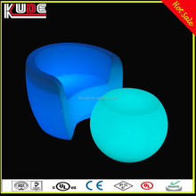 Home Garden Used Outdoor Colors Changing illuminated LED Lighting Furniture With Remote Control