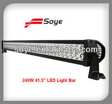 "40"" 240w Flood/Spot/Combo Alloy 4wd UTE led 4WD UTE led light bars"