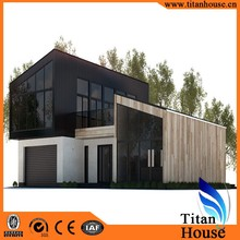 Economical Modular Light Gauge Steel Frame Prefabricated Residential House