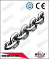 din5685 de acero inoxidable de cadena corta
