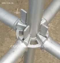 Building and construction rosette scaffold with wedge pin tie rods best-selling china