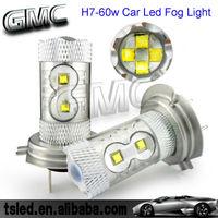 HOT! Car Led Fog Light H7 60w Led Car Accessaries
