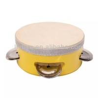 hot selling wholesale small child tambourine music education toys
