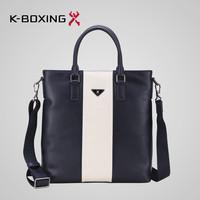 K-BOXING Brand Stylish Men's PU Leather Handbag