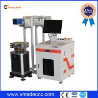 China manufacture wholesale high speed 10w 30w 60w 100w RF co2 laser marking machine/service