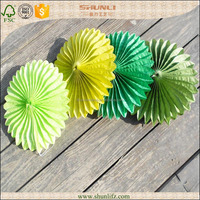 Hot new products handicraft paper fan